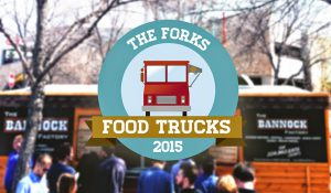 The Bannock Factory's Food Truck was asked to participate in The Forks Food Truck Alley.
